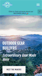 Mobile Preview of outdoorgearbuilders.org